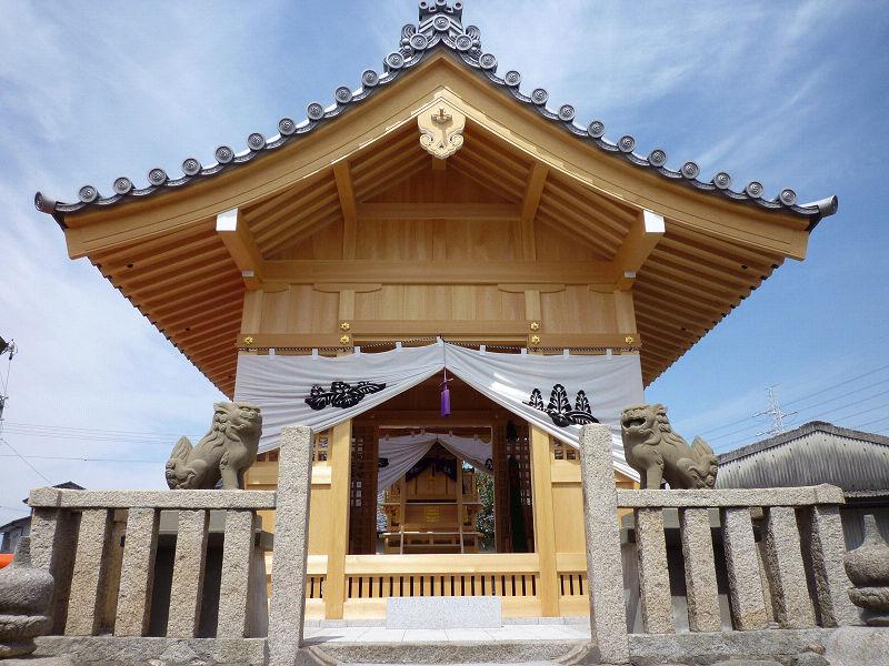 正神社 本殿・幣殿改築詳細へ