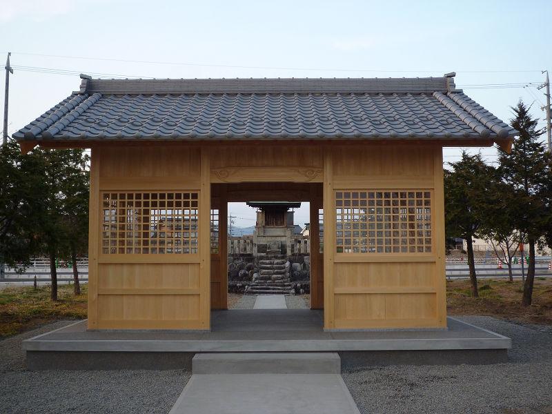 羽根田神社 拝殿建替え詳細へ